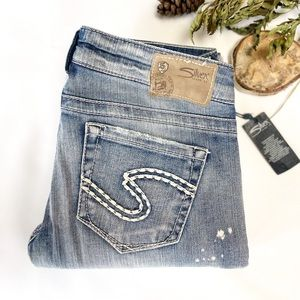 28x32 NWT Silver Jeans